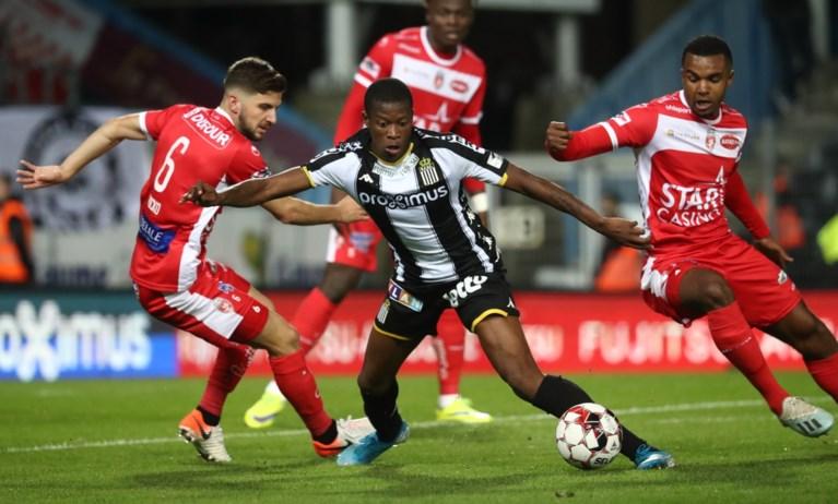 Charleroi wipt over streekrivaal Moeskroen na nipte winst in Henegouwse derby
