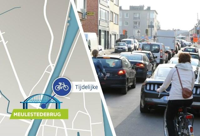 Twee zware werven: omgeving Muide de komende maanden te mijden met de auto