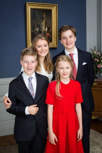 Na Elisabeths verjaardagsfeestje: nu vakantie met de familie