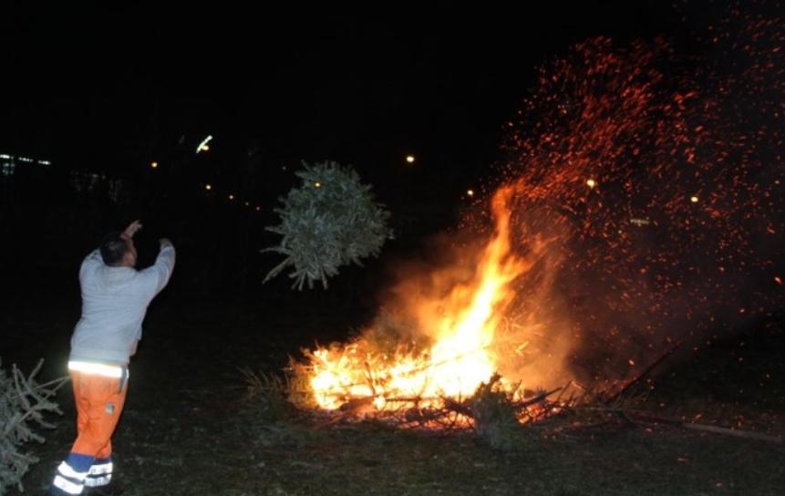 """Hier zullen kerstbomen niet meer verbrand worden: """"We stoppen ermee uit principe"""""""