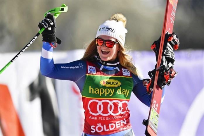 Amper 17 jaar oud en getraind door coaches van Lindsey Vonn: wie is Alice Robinson, de nieuwe sensatie in de alpijnse ski?