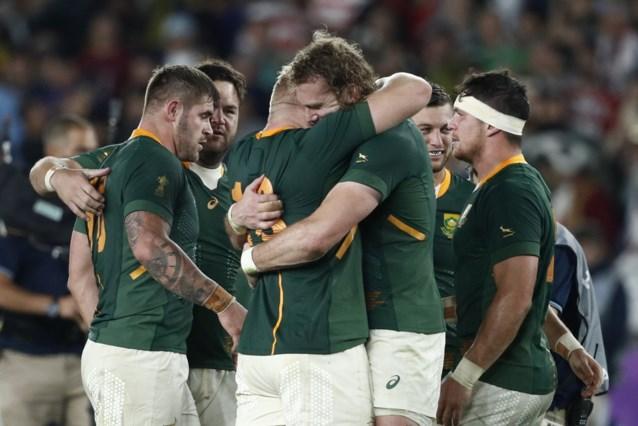 Zuid-Afrika klopt Wales en mag het nu opnemen tegen Engeland in de finale van het WK rugby
