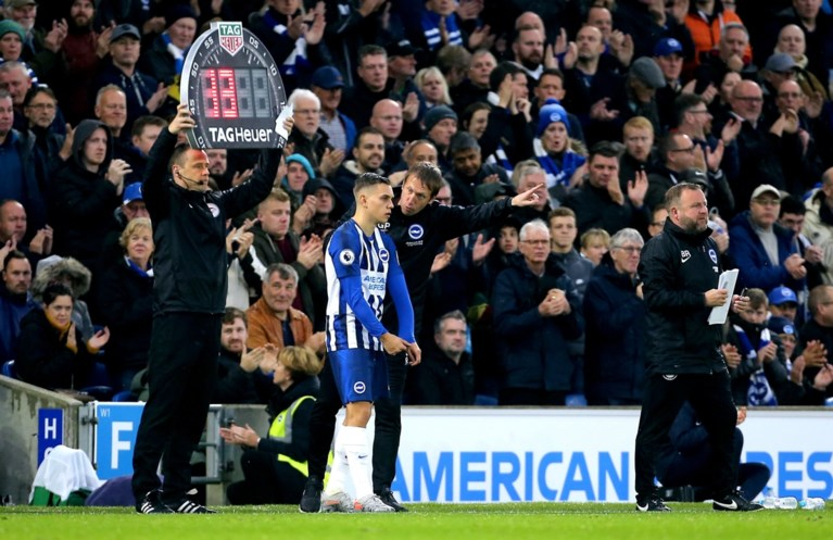 """In Engeland keken ze likkebaardend naar de comeback van Leandro Trossard: """"Hij maakte het verschil voor Brighton"""""""