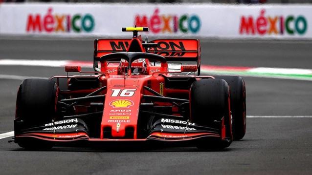GP van Mexico: startgrid