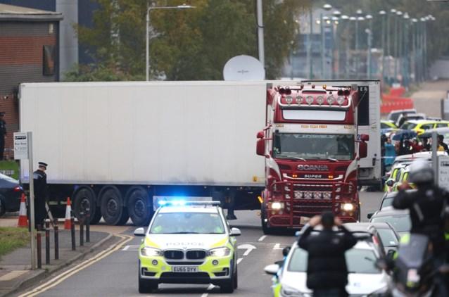 Belgische speurders trekken naar Verenigd Koninkrijk om te helpen bij onderzoek naar 39 doden in container