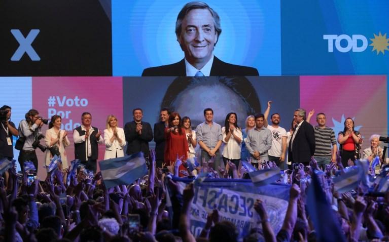 Oppositiekandidaat heeft aan één verkiezingsronde genoeg om Argentijnse president Macri te verslaan
