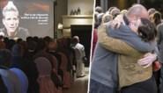 """Eén lach en veel tranen bij uitvaart Marieke Vervoort, zelfs bij de begrafenisondernemer: """"Dat is nog nooit gebeurd"""""""