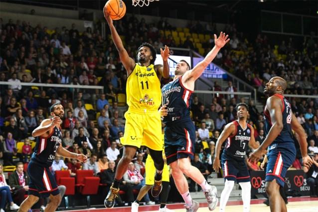 Champions League basket: Quentin Serron boekt met Straatsburg tweede overwinning