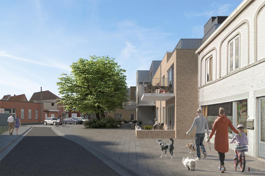 Projectontwikkelaar start charmeoffensief voor bouw nieuwe woningen maar buurt lijkt niet echt onder de indruk