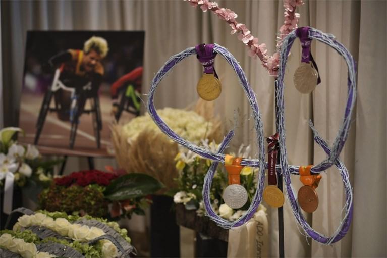 Vrienden en familie nemen vandaag in besloten kring afscheid van paralympisch kampioene Marieke Vervoort