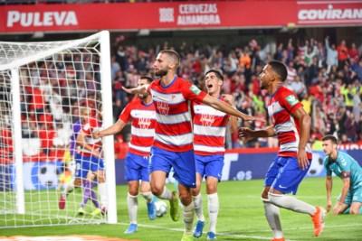 Met ploegje van 6,2 miljoen boven Barça en Real: promovendus Granada is de verrassende leider in La Liga
