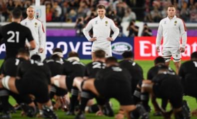 """Engeland krijgt ondanks complimenten toch boete voor """"briljante"""" reactie op 'haka' van Nieuw-Zeeland tijdens WK rugby"""