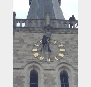 Toren Sint-Martinuskerk heeft weer uurwerk