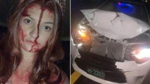 De gevaren van een halloweenoutfit: studente botst met wagen, hulpdiensten denken dat ze dood is