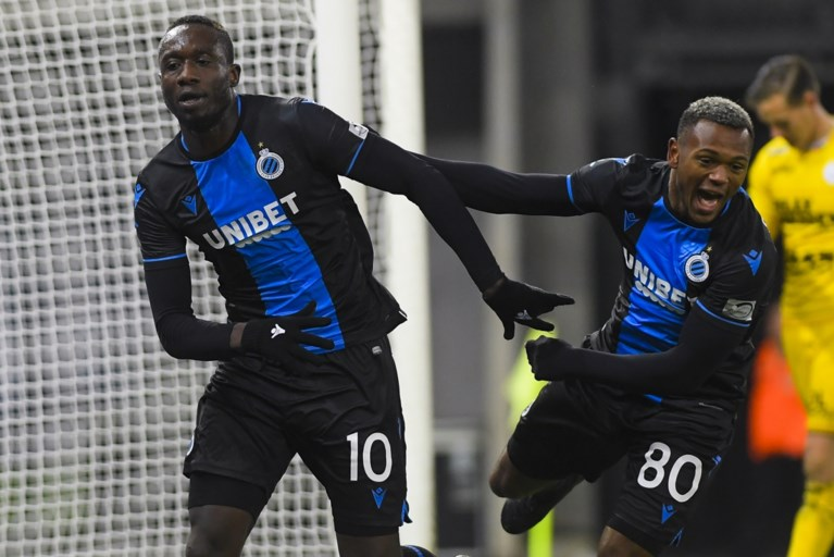 Club Brugge morst met de kansen maar blijft foutloos op verplaatsing