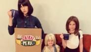 Actrice verkleedt gezin als cast van 'Friends'... en wordt op haar plaats gezet door hoofdrolspeelster