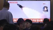 Noord-Korea vuurt opnieuw projectielen af in zee