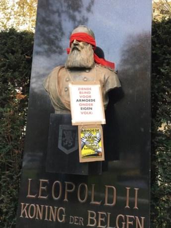 Extreemrechtse blinddoek voor Leopold II