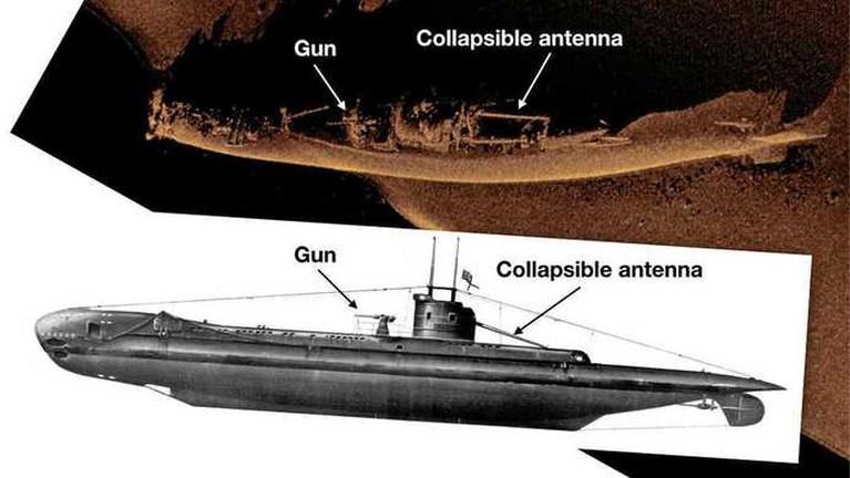 Mysterie rond verdwenen onderzeeër uit WO II opgelost na vondst van wrak