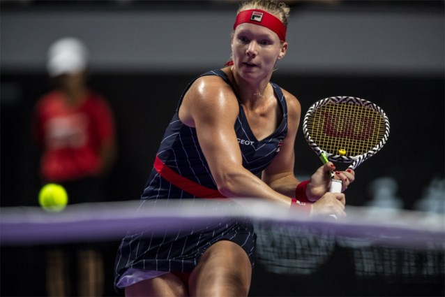 Kiki Bertens, nummer tien van de wereld, breekt met haar coach Raemon Sluiter