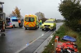 Zwaargewonden bij verkeersongeval in Peer
