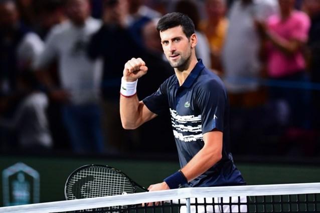 Djokovic en Nadal stomen door naar halve finales in Parijs
