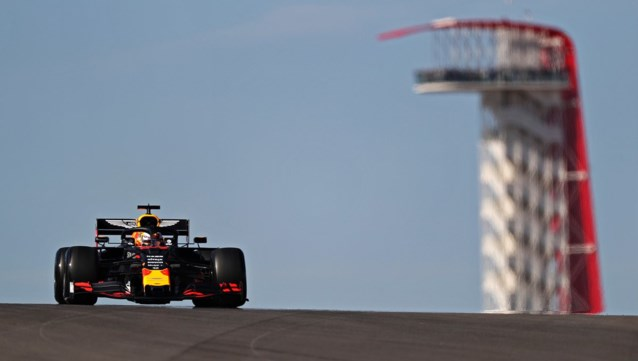 Max Verstappen snelste tijdens eerste oefensessie GP van de USA