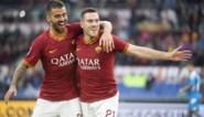 Napoli verliest spannende topper bij AS Roma en zakt naar zevende plaats in Serie A