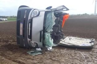Negen Vlamingen gewond bij zwaar verkeersongeval in Verlaine