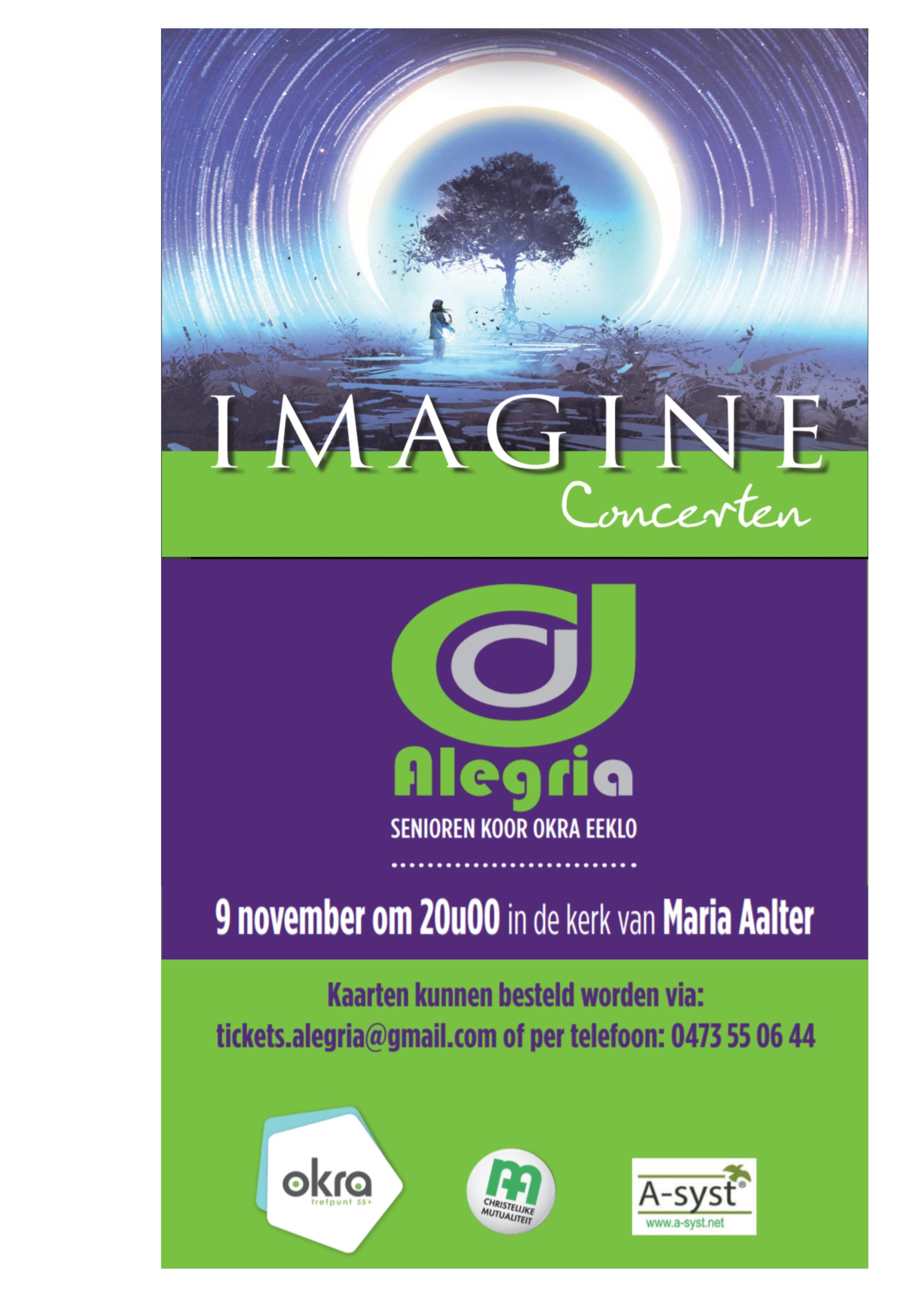 "Concert "" Alegria "" kerk Maria Aalter"