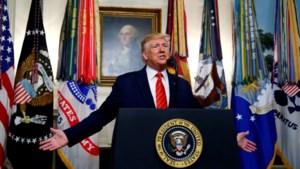 Als een Hollywoodfilm: hoe Trump zijn eigen moment de gloire verpestte