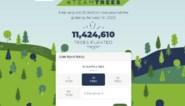 YouTube-ster viert succes met 11 miljoen bomen