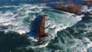 Historisch scheepswrak aan Niagarawatervallen beweegt voor het eerst in 101 jaar