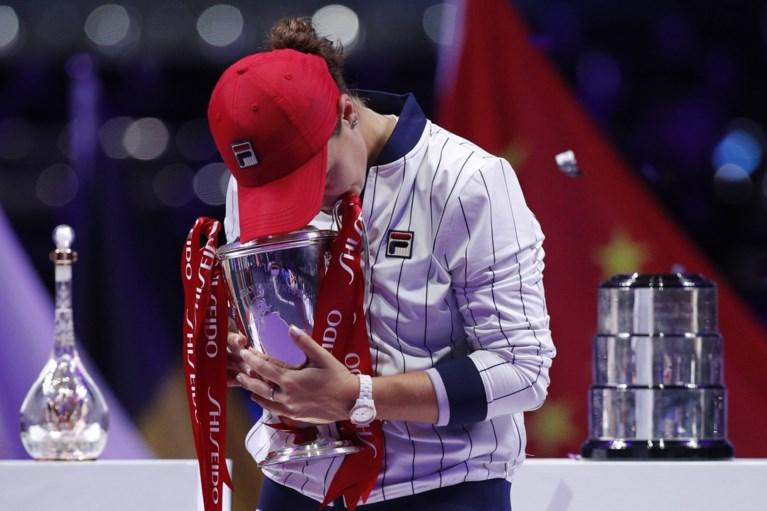 Australische Ashleigh Barty wint WTA Finals en strijkt een historisch recordbedrag op