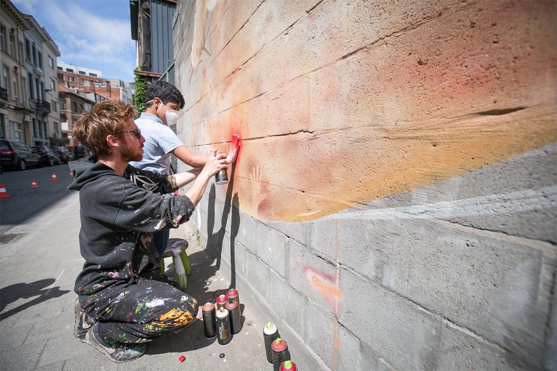 """Groot graffitiproject in opkomend district: """"Staat dikwijls in een negatief daglicht, maar heeft een enorm artistiek potentieel"""""""
