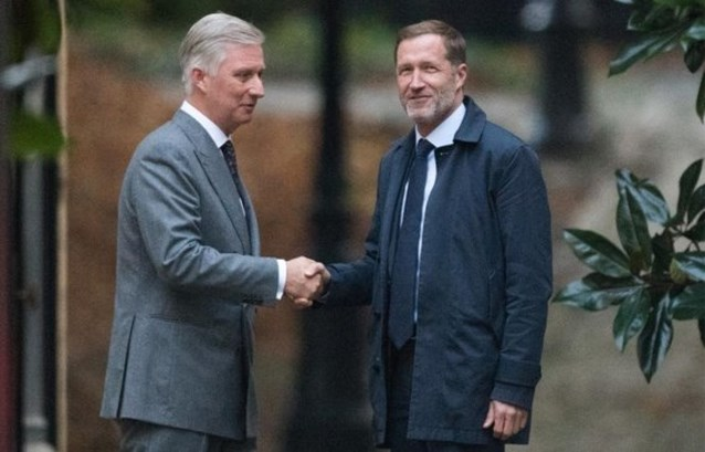"""Paul Magnette (PS) na gesprek met de koning: """"N-VA is niet incontournable voor een regering"""""""