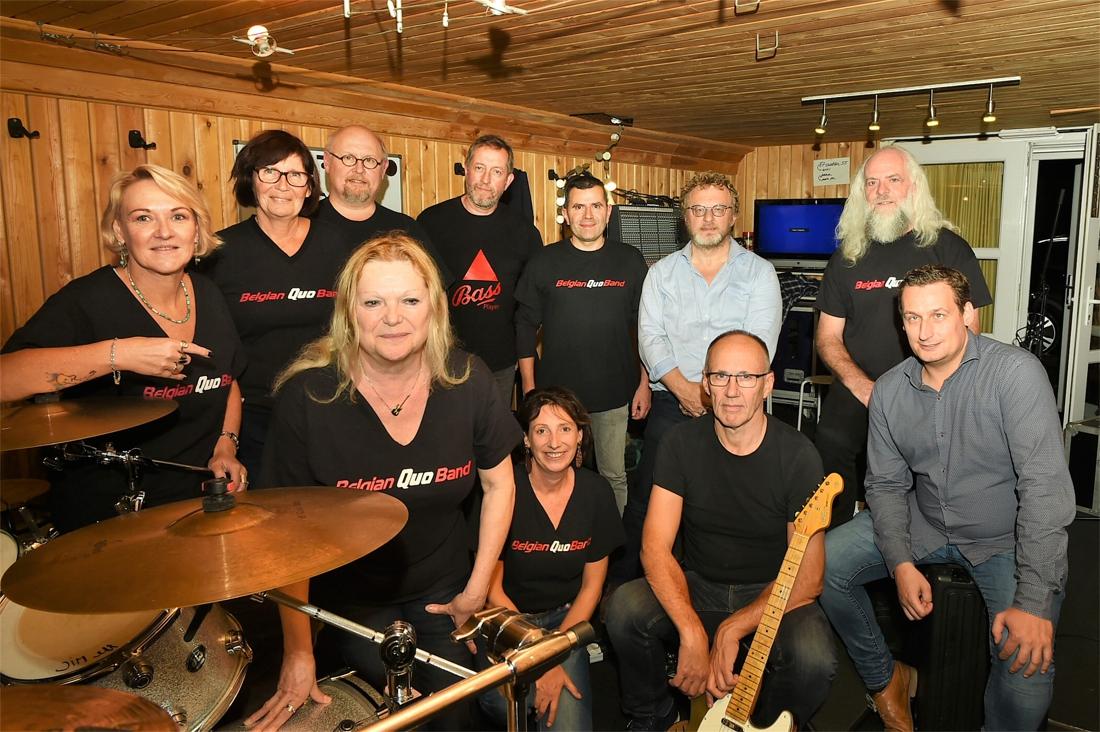 Belgian Quo Band treedt op in legendarische Londense pub