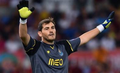 Iker Casillas traint opnieuw na hartaanval