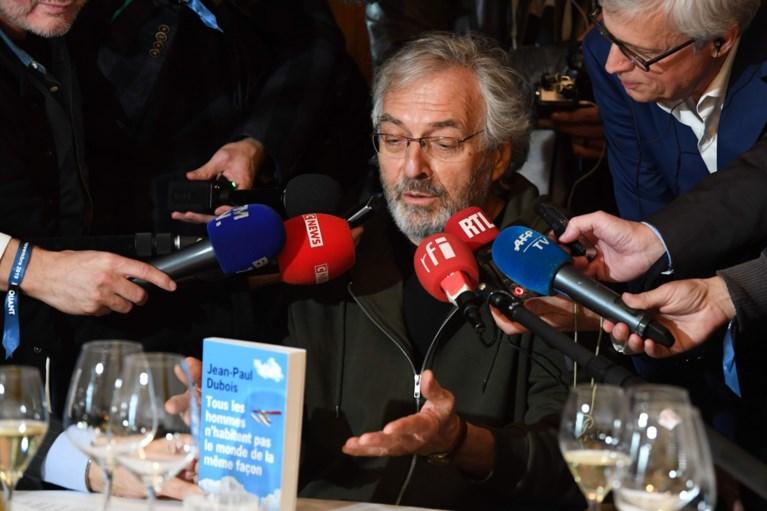 Amélie Nothomb grijpt naast Prix Goncourt, winnaar is Jean-Paul Dubois