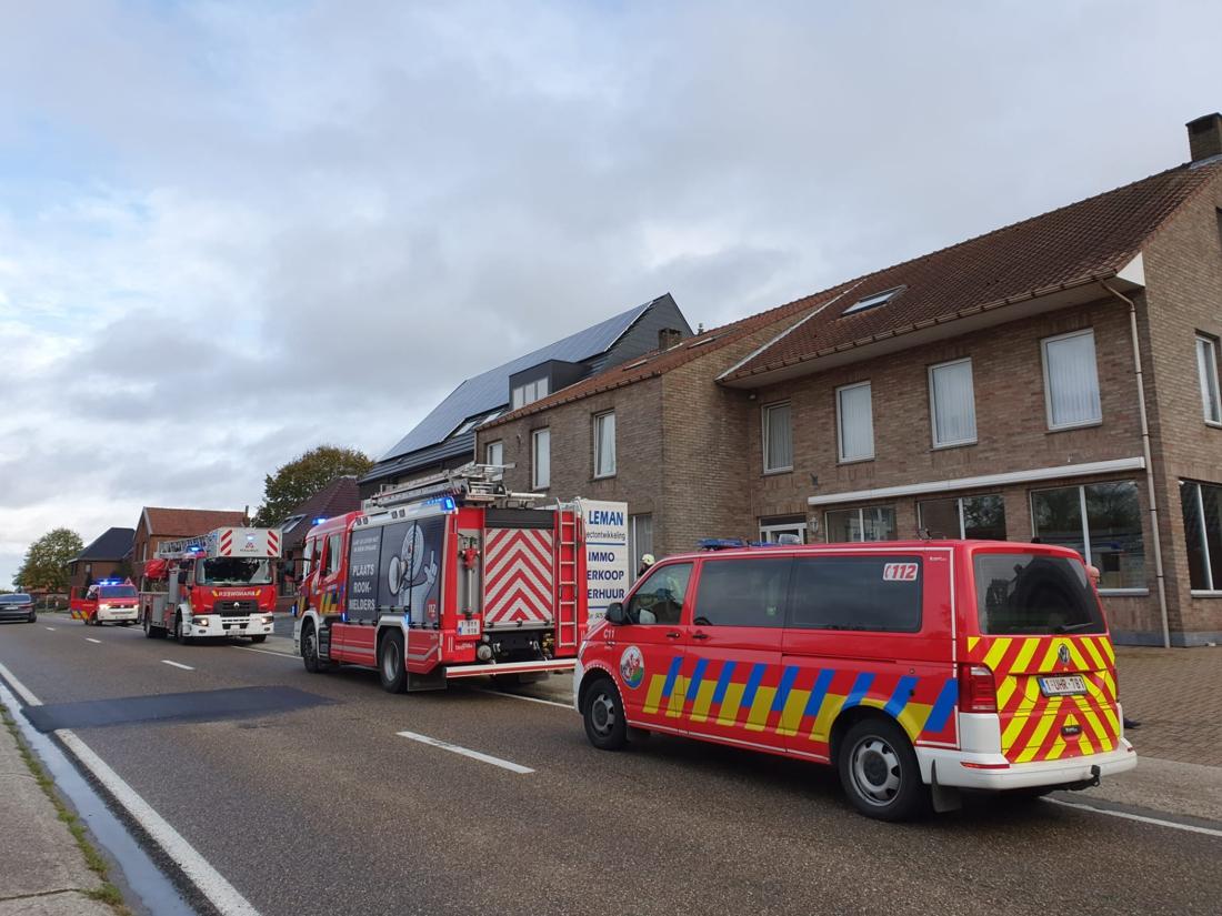 Gebouwbrand in Meeuwen blijkt verwarde oproep