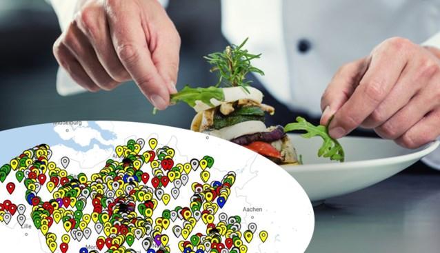 KAART. Bekijk hier de score van alle 1.263 restaurants uit de nieuwe Gault&Millau-gids