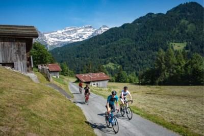 Afzien én genieten op de fiets in de Zwitserse Alpen