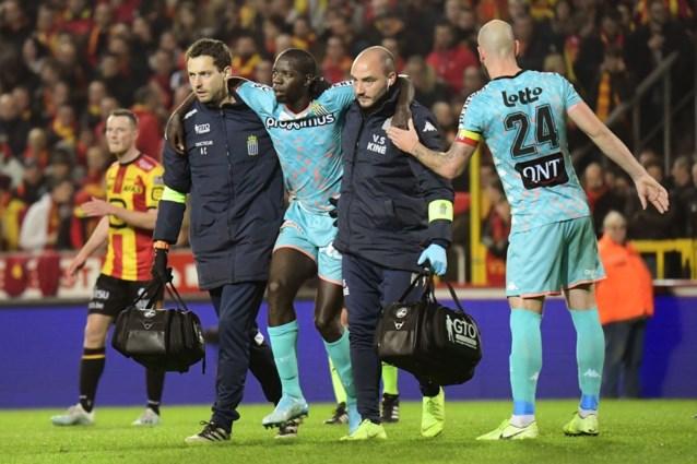 Diandy out voor de rest van het seizoen bij Charleroi