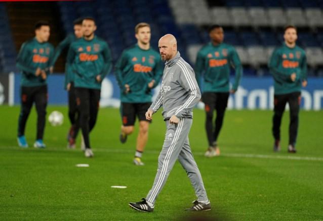 """Ten Hag: """"Ik blijf dit seizoen bij Ajax, ik ga niet naar Bayern München"""""""