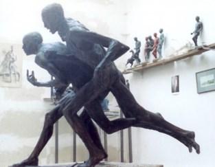 Eerste expo rond beeldhouw- en schilderkunst voor Kunststichting Perspektief
