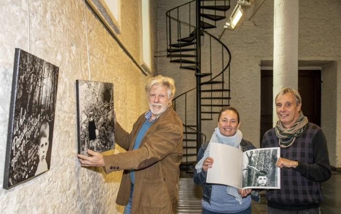 Silvain stelt werken tentoon die hij nooit zal verkopen