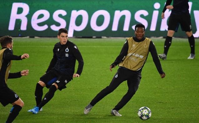 De vermoedelijke opstelling van Club Brugge tegen PSG: met Ricca en Balanta in de ploeg?