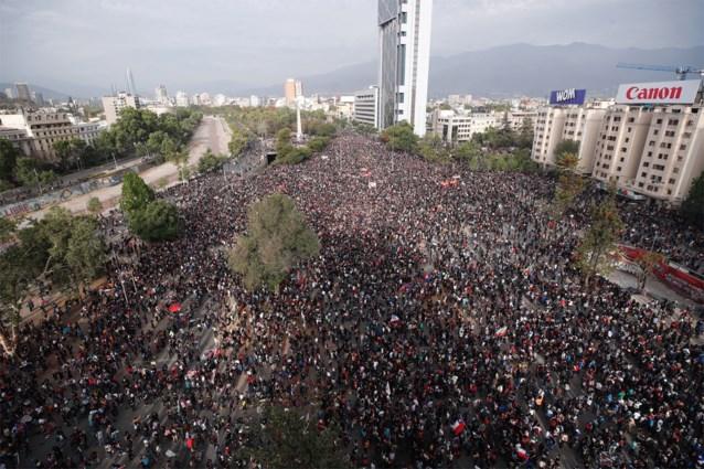 Aardbeving met magnitude 6 treft Chili tijdens protesten in Santiago