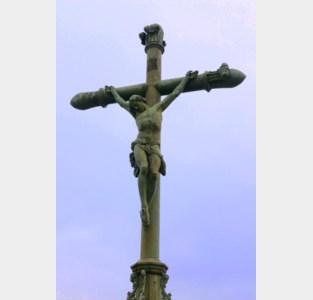 Calvariekruis op kerkhof van Wolvertem is beschermd