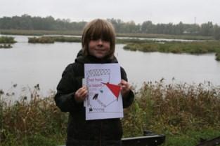 Amper zeven jaar is hij, maar Carsten brengt nu al eerste boek uit